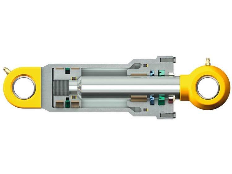 In vielen Off-Highway-Anwendungen sind Hydraulikzylinder und deren Dichtungen enormen Belastungen ausgesetzt.( Bild: SKF )