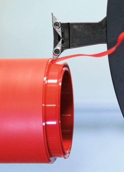 Das SKF-Seal-Jet-Verfahren ermöglicht eine rasante Prototypen-Produktion.( Bild: SKF )
